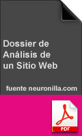 Dossier de análisis de un sitio web
