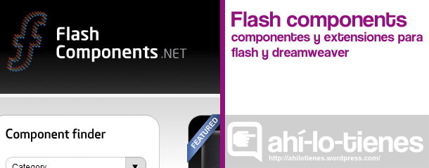 Flash Components